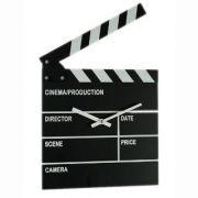 Σκηνοθετική Κλακέτα Ρολόι
