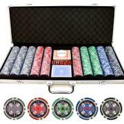Σετ 500 Μάρκες Πόκερ