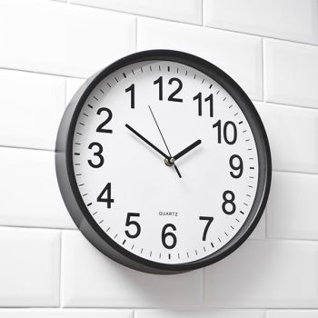 Ανάποδο Ρολόι Τοίχου