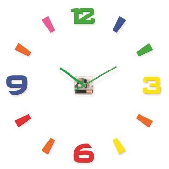 Αυτοκόλλητο Ρολόι Κλασσικό