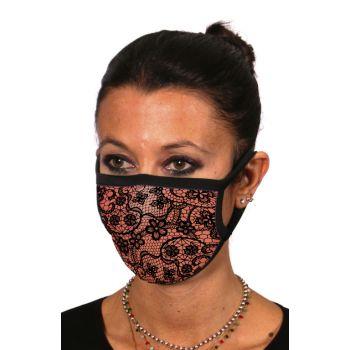 Υφασμάτινη Μάσκα Προσώπου Δαντέλα
