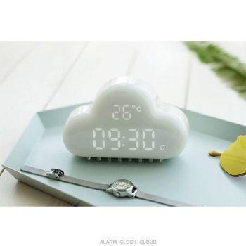 Παιδικό Ρολόι Ξυπνητήρι Θερμόμετρο Τιρκουάζ