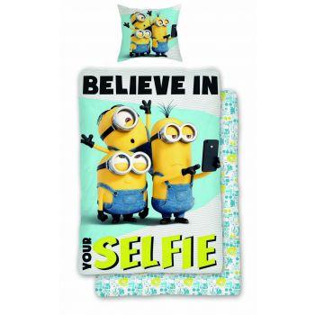Παιδική Παπλωματοθήκη Minions Selfie