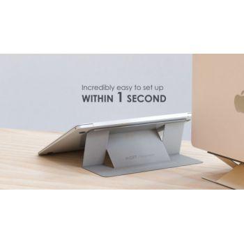 Αόρατη Βάση Laptop Moft Ασημενια