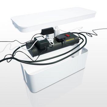 Κουτί Οργάνωσης Καλωδίων mini Μαύρο
