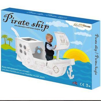 Χάρτινο Πειρατικό Καράβι