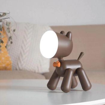 Φωτιστικό Κουταβάκι PuppyLamp by Allocacoc Καφέ