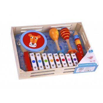 Ξύλινο Σετ Μουσικών Οργάνων Tooky Toy